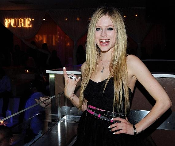 Avril Lavigne hosts official Abbey Dawn after-party during MAGIC at PURE Nightclub