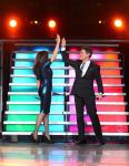 Donny & Marie Osmond celebrate their 1000th performance at the Flamingo Las Vegas