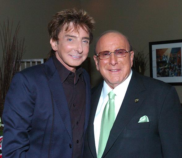 Barry Manilow and Clive Davis