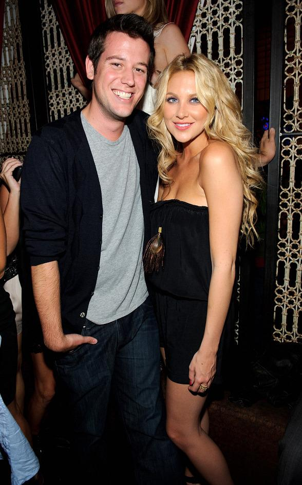 Ben Lyons and Stephanie Pratt at LAVO