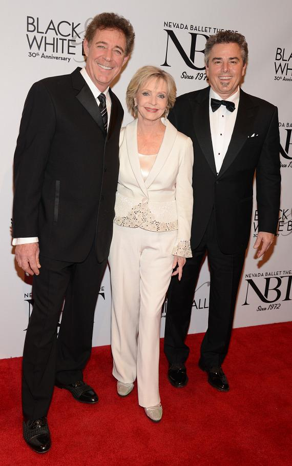 Former Brady Bunch stars Barry Williams, Florence Henderson and Christopher Knight