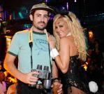 Bridget Marquardt and Boyfriend, Nicholas Carpenter, Party in the Exotic VIP Section at Gallery Nightclub