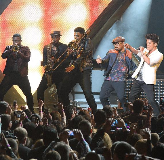 Bruno Mars performs at The Chelsea, New Year's Eve at The Cosmopolitan of Las Vegas