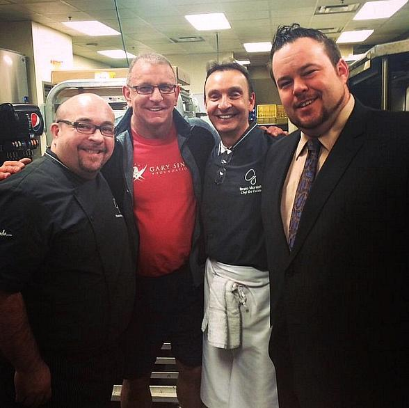 Restaurant: Impossible Host Robert Irvine Spotted at GIADA at The Cromwell