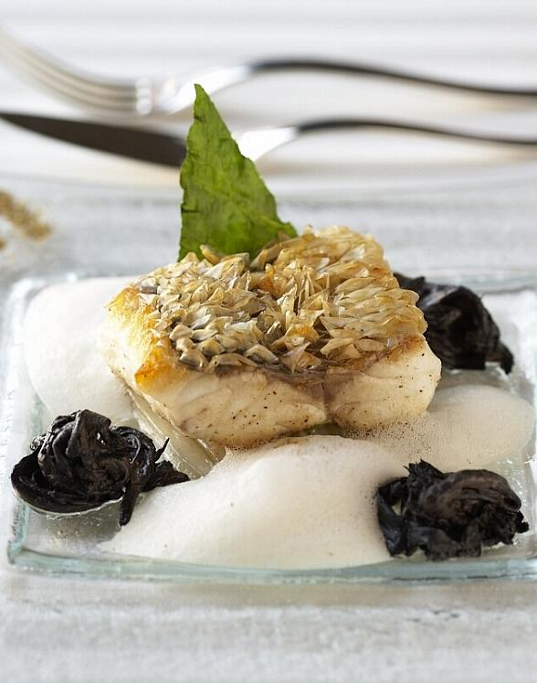 Guy Savoy Crispy Sea Bass with Delicate Spices