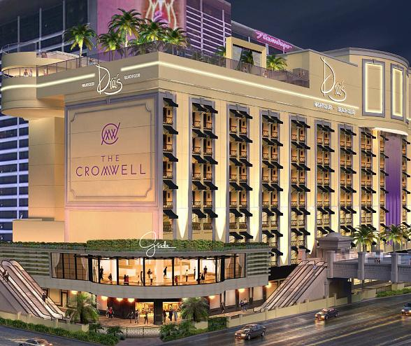 The Strip's First Luxury Boutique Hotel and Casino, The Cromwell, Opening this Spring