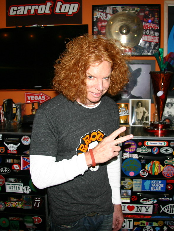 Carrot Top Joins Hard Rock Int'l to Support 'Imagine There's No Hunger' Charity Campaign