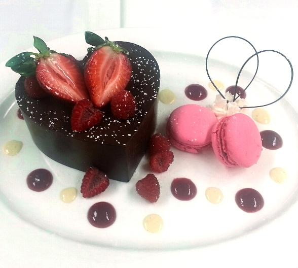 Chocolate Heart for two