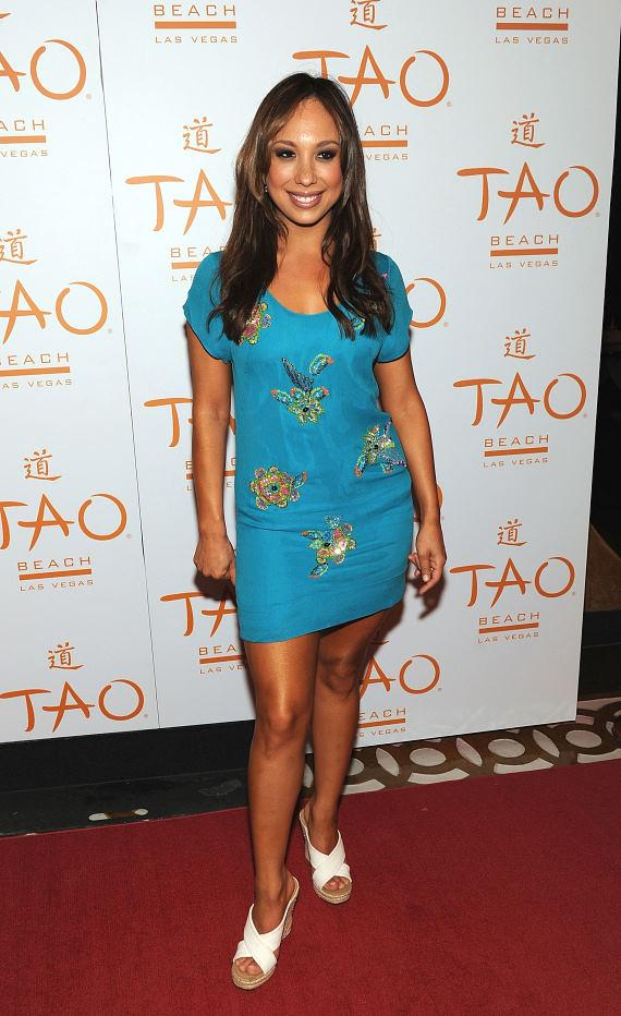 'Dancing With The Stars' Cheryl Burke Celebrates Birthday at TAO Beach