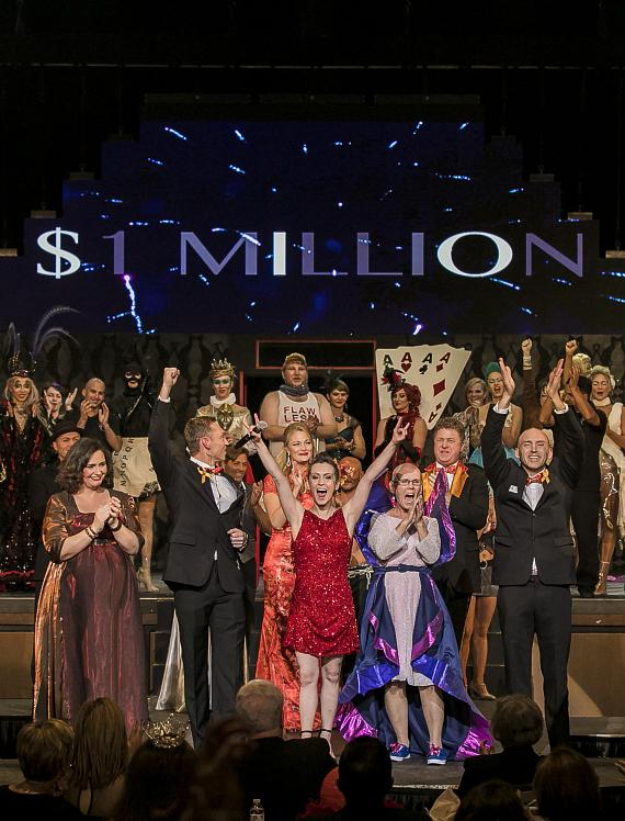 "Circus Couture's ""Lucky"" Helps Childhood Cancer Charity Surpass the One Million Dollar Milestone"