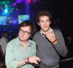 Clark Duke and Jacob Zacher