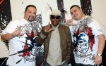 Coolio with hosts Robert and Paco at Rockhouse