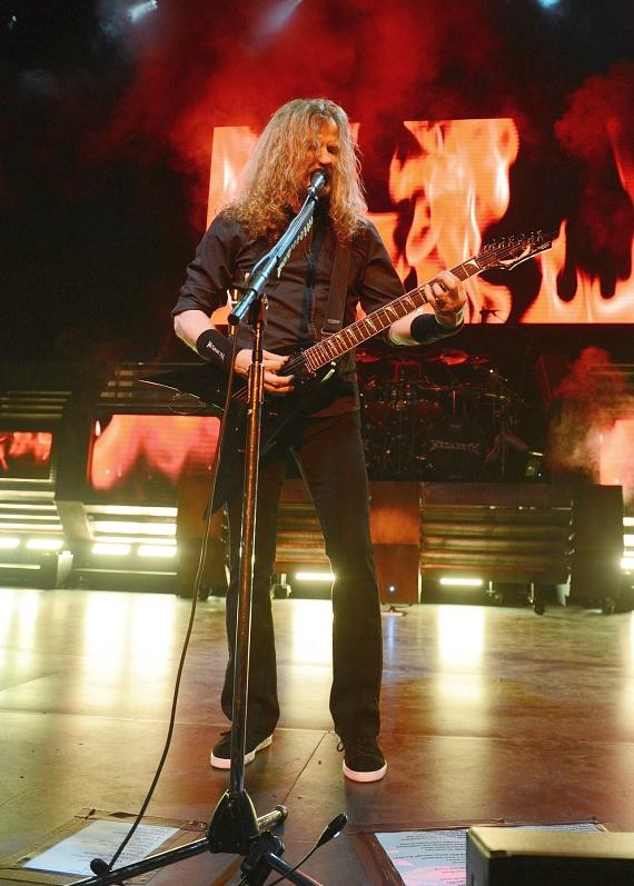 Megadeth performs at The Pearl at Palms Casino Resort