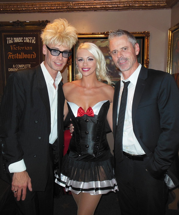 C. Thomas Howell drops by Murray's Show at the Magic Castle in Hollywood