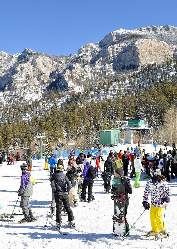 Lee Canyon Kicks Off Second Annual Feel Good Fridays withSpecialty-Priced Lift Tickets forSkiers and Snowboarders on February 16