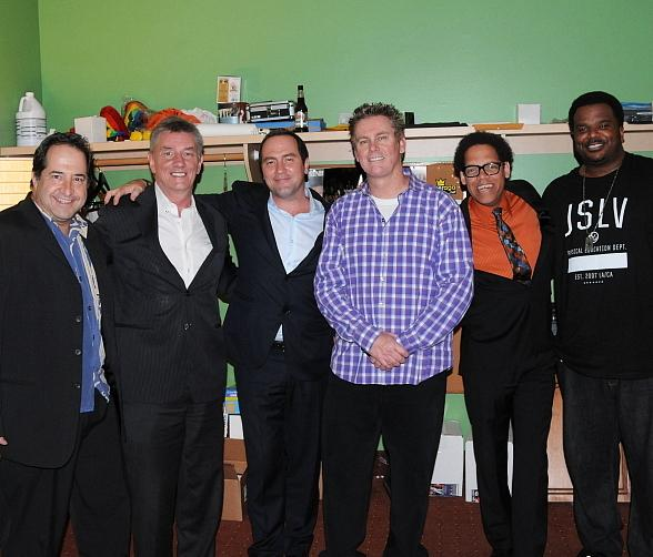 Harry Basil, comics from Brad Garrett's comedy club, Frazer Smith and Tom Rhodes, comedy superstar and Las Vegas local Brian Regan, Greg Morton & host of Last Comic Standing and star of The Office & Pineapple Express Craig Robinson.