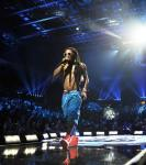 Lil Wayne performs at 2012 iHeartRadio Music Festival