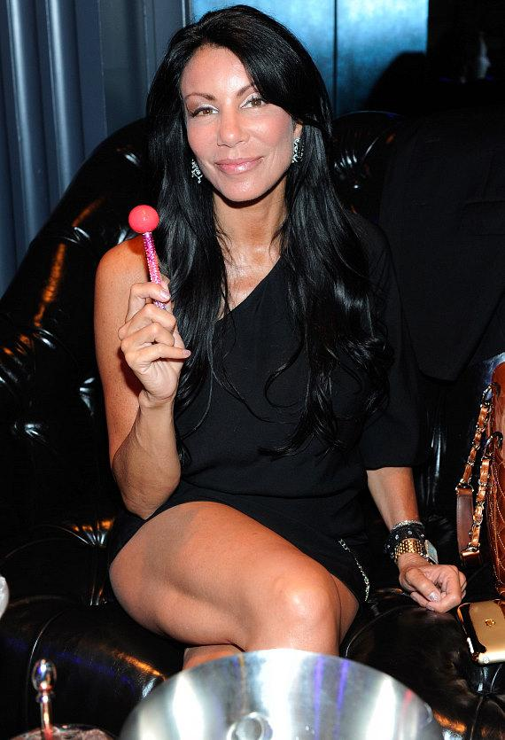 """Danielle Staub inside Chateau Nightclub & Gardens for the pre-premiere party of VH1's """"Famous Food"""""""