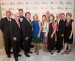 Dr. Jill Biden and The Smith Center executive team at the second annual Heart of Education Awards, April 29, 2017