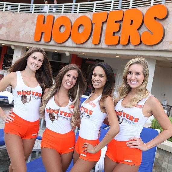 Hooters Grand Opening at Palms Casino Resort in Las Vegas