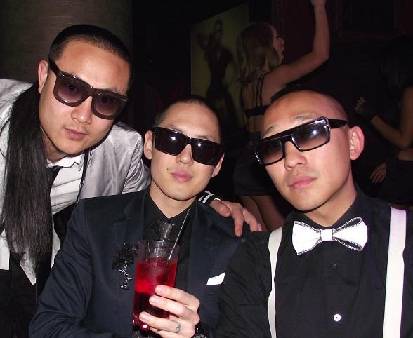 Far East Movement enjoys the party at Gallery Nightclub