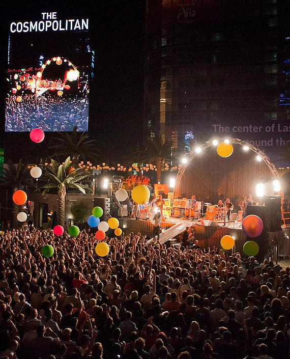 Flaming Lips perform at Boulevard Pool at The Cosmopolitan of Las Vegas