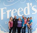 Fried Family at Freed's Dessert Shop in Summerlin