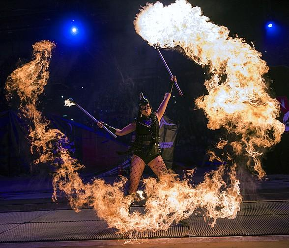 """""""INFERNO – The Fire Spectacular"""" Showtimes at Paris Las Vegas"""