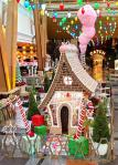 Aria Resort & Casino Rings in the Holiday Season with Life-Size Gingerbread House