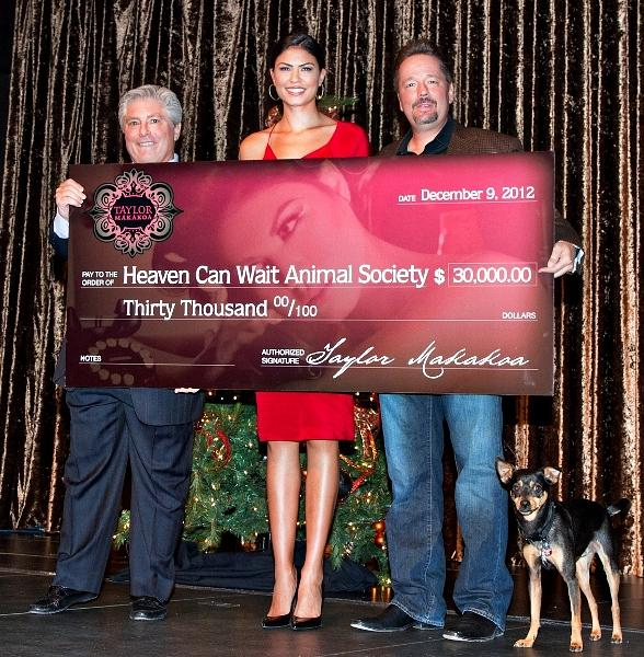 HCWS Donation from Taylor Makakoa and Terry Fator