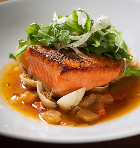 HEXX Grilled King Salmon