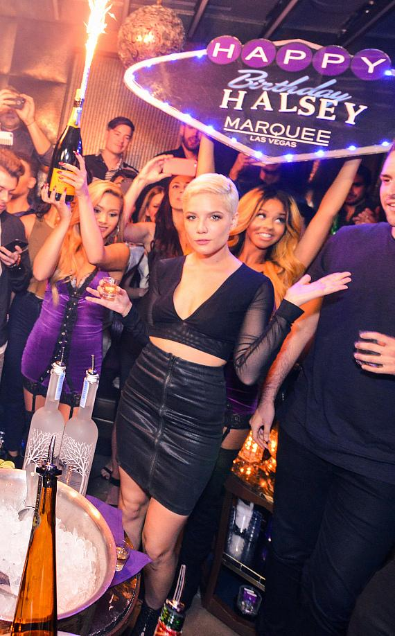 Halsey's 21st Birthday at Marquee