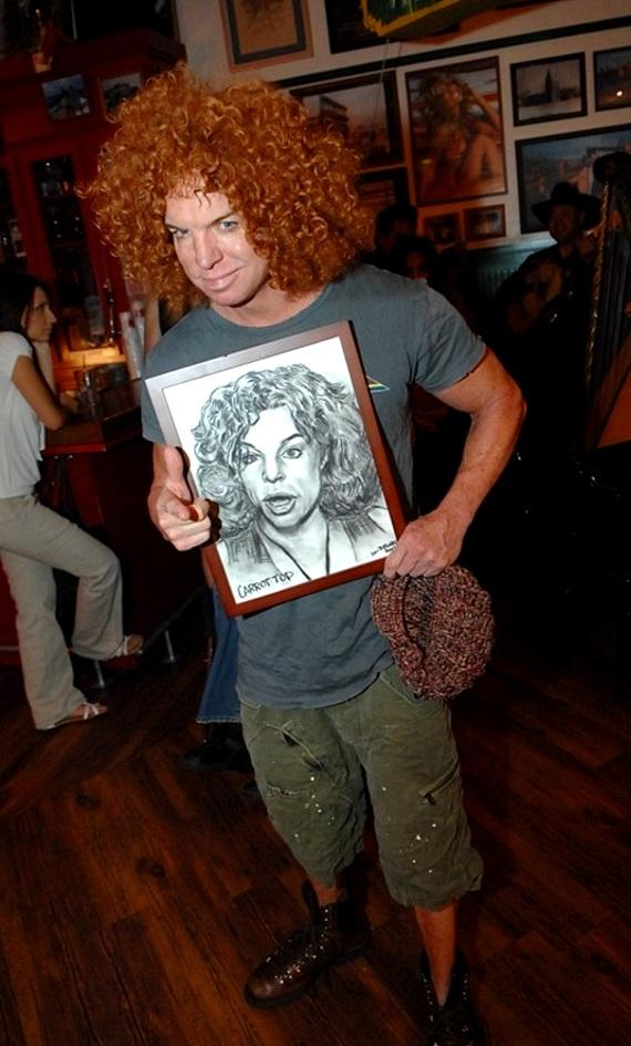 Carrot Top at Hussong's Cantina