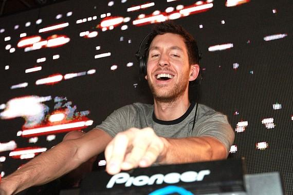 DJ Calvin Harris celebrates his birthday at Surrender