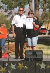 North Las Vegas Councilman Richard Cherchio (Ward 4) delivered a proclamation to the Las Vegas Valley Humane Society.