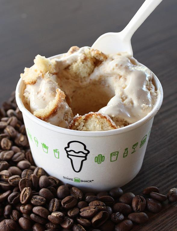Shake Shack Launches New Concrete for Month of August, Coffee & Doughnuts Concrete