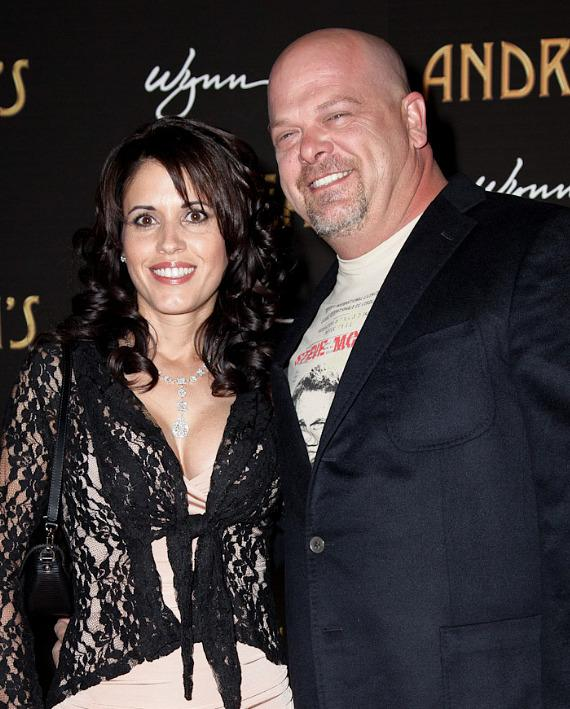 Rick Harrison of Pawn Stars with bride-to-be Deanna Burditt. The couple is getting married on July 21 in California.