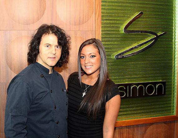 "Jersey Shore's Sammi ""Sweetheart"" Giancola and Chef Kerry Simon"