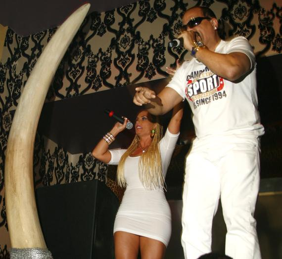 Ice T and CoCo at Prive