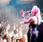 JES performs at Marquee