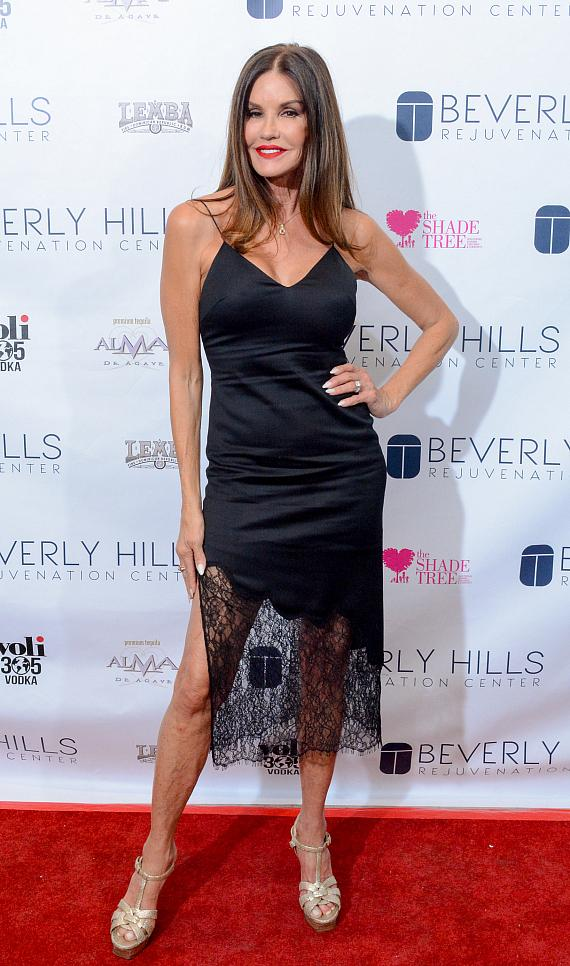 Janice Dickinson at Beverly Hills Rejuvenation Center Downtown Summerlin's Grand Opening Event