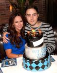 Jennifer Love Hewitt and Jarod Einsohn at LAVO