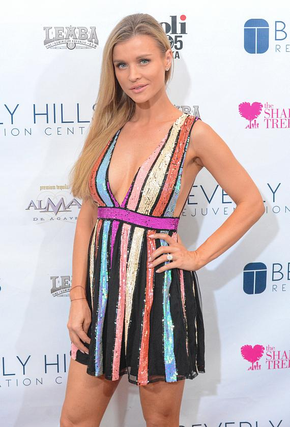 Joanna Krupa at Beverly Hills Rejuvenation Center Downtown Summerlin's Grand Opening Event