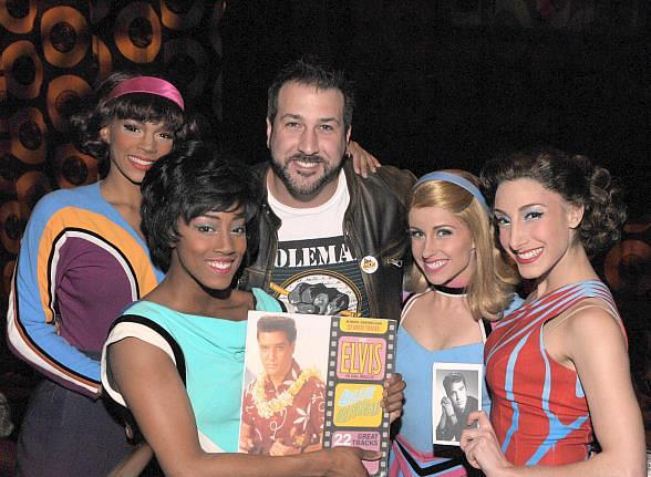 Joey Fatone at Viva ELVIS