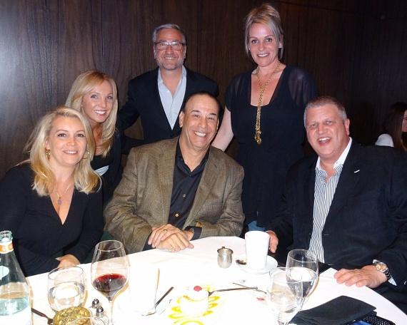 Jon Taffer dines inside Andiamo Las Vegas with the D Las Vegas owner Derek Stevens, Jeff Victor and the D executive team.