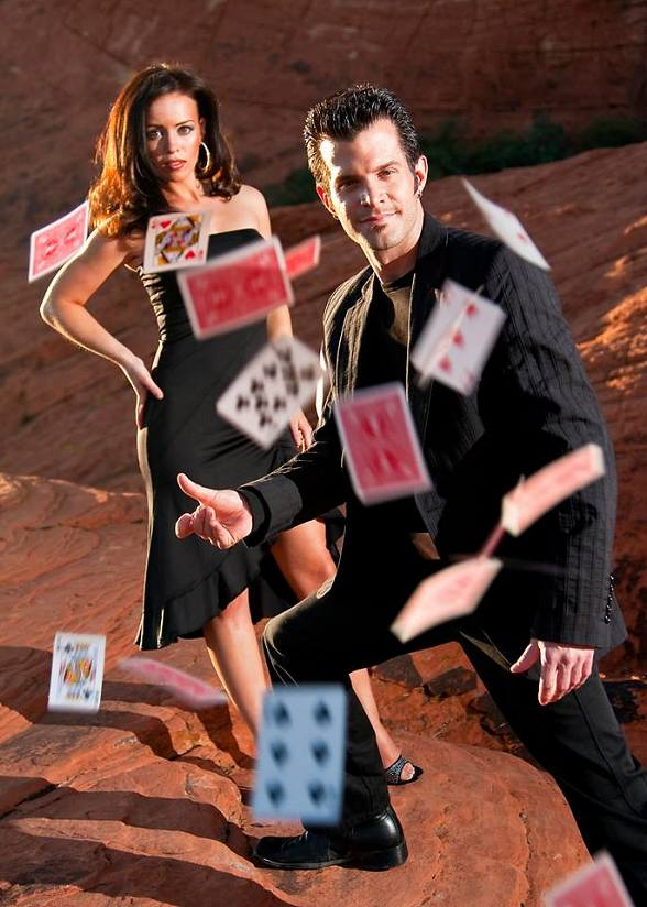 Illusionists Kyle Knight & Mistie to perform at Sam's Town Hotel & Casino October 18