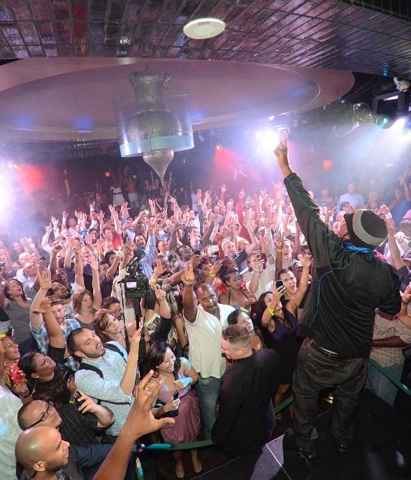 KRS One at LAVO's Old School Wednesday