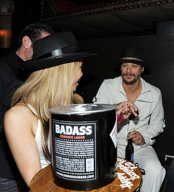 Kid Rock hosts after concert party at TAO