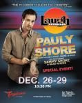 Pauly Shore and Sammy Shore to Perform Together at The Laugh Factory in The Tropicana Las Vegas Dec. 26-29