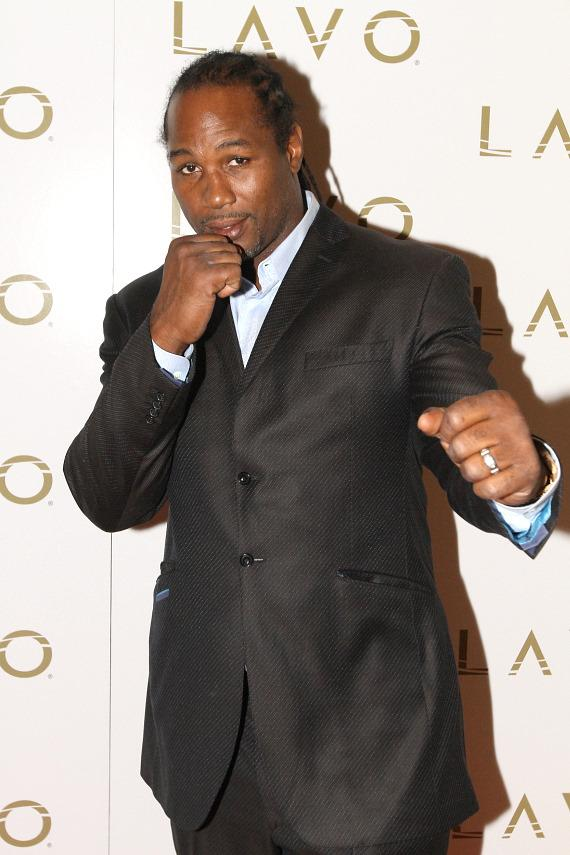 Lennox Lewis at LAVO